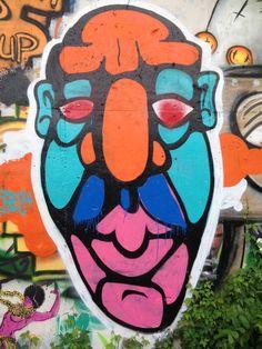 Face Austin Street Art - June 2014