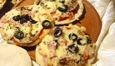 Pizza de Pan de Pita
