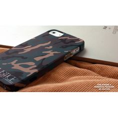 MONSFER Premium 3D-Print Case für iPhone 5 - Camo Real bei www.StyleMyPhone.de Camo, Samsung, Iphone 5s, 3d Printing, Wallet, Sport, Outdoor, Slipcovers, Camouflage