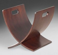 Helios Decorative Accents Magazine Rack - Sears Furniture Gallery