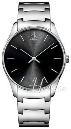 Calvin Klein Musta/Teräs kello K4D21141. Materiaalit & Mitat Malli:K4D21141 Tyyppi:Miesten kello, Dress Halkaisija:�