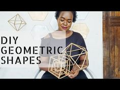 Hello lovely people, I have been so obsessed with geometric & gold himmeli room decor! So this episode you learn how to make himmeli geometric shapes for hom. Geometric Decor, Geometric Shapes, Room Decor, Party Ideas, Events, Make It Yourself, Weddings, Youtube, Diy