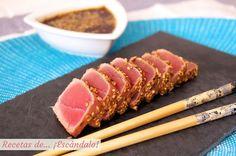 El tataki es más una técnica culinaria que una receta en sí. Se trata de macerar el pescado o la carne con vinagre y jengibre fundamentalmente (y si se desea, algún ingrediente más), para después…