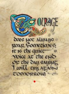 Celtic Card Company presents the illustrated manuscripts of artist Kevin Dillon Cool Words, Wise Words, Lynda Barry, Irish Proverbs, Irish Quotes, Irish Sayings, Book Of Kells, Celtic Art, Celtic Signs
