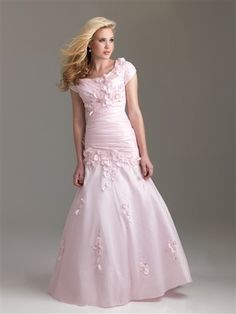 Modest Prom Dress 6580M by Night Moves by mandy