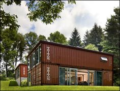 The Quik House - this company designs and installs shipping container houses in the US of all shapes and sizes