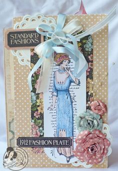 Scraps of Life: Graphic 45 A Ladies' Diary Mini Album