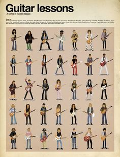 guitar players styles