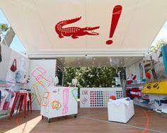 Pop up Shop   Retail Design   Lacoste LIVE shipping container pop-up shop