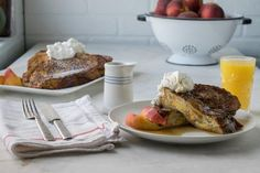 Weekend mornings never had it so good! Filled with maple cream cheese and fresh sliced peaches, we expect once you've tried this recipe you'll be making it agai