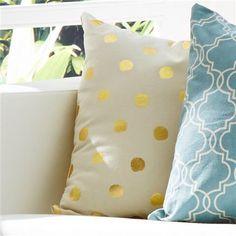 Kmart living foil cushions