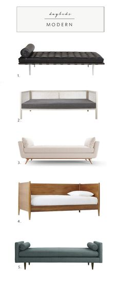 daybed roundup in every style on coco kelley | modern daybeds