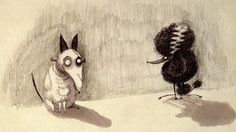 Tim Burton. I can't wait till Frankenweenie & Dark Shadows hits the cinema. I love his style.