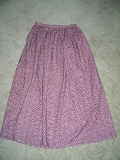 Buns and Baskets: The Not-So-Pioneer Skirt Tutorial This is the pattern and tutorial I have used for our trek skirts