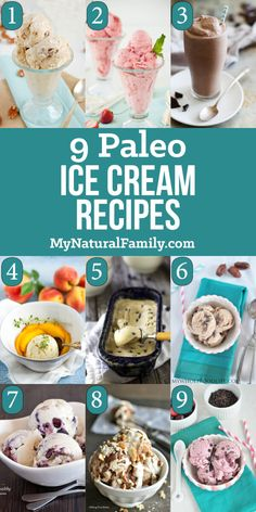 These are 9 of the best ever Paleo ice cream recipes. I love Paleo ice cream because it is also dairy-free and surprisingly delicious.