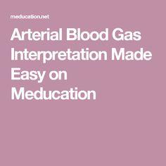 Arterial Blood Gas Interpretation Made Easy on Meducation