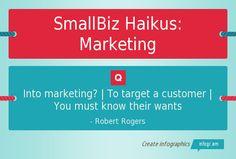 SmallBiz Haikus: Marketing
