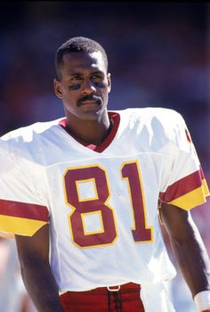 Redskins #81, Art Monk, Hall of Famer