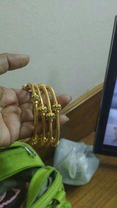 Gold Bangles Design, Gold Earrings Designs, Jewelry Design, Kids Jewelry, Simple Jewelry, Jewelry Sets, Gold Bangle Bracelet, Diamond Bangle, Pakistani Jewelry