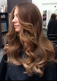 Brazilian Virgin/European Virgin Ombre #4/18 Straight with Waves Human Hair Wig