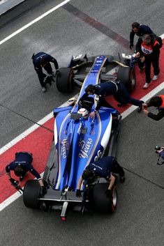 Pre-Season Test Barcelona/Spain, February/March 2017 - #SauberF1Team #25YearsInF1 #F1 #F1Testing #Formula1 #FormulaOne #motorsport