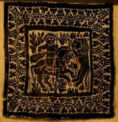VISANTIA IN PICTURES - Coptic fabrics from the collection of the Pushkin Museum named after Pushkin