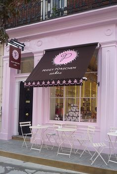 Peggy Porschen cakes: Ebury Street, London...how cute is this?