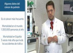 El doctor Zulueta, director del Departamento de Neumología de la Clínica, explica la importancia de la detección precoz del cáncer de pulmón para su curación y cirugía.