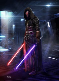 DARTH REVAN, Tariq Raheem on ArtStation at https://www.artstation.com/artwork/W8rZ3