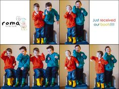 Roma Boots - giving poverty the boot - Emma Burcusel  Rubber boots