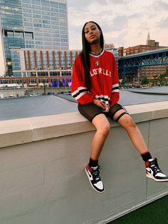 You are in the right place about Tomboy Outfit black girl Here we offer you the most beautiful pictures about the Tomboy Outfit hoodie you are looking for. When you examine the part of the picture you Cute Swag Outfits, Chill Outfits, Dope Outfits, Retro Outfits, Summer Outfits, Fashion Outfits, Outfits With Jordans, Hip Hop Outfits, Party Outfits