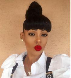 I ❤️ U Lips - Keyshia Ka'oir on tha beat Gold Star Earrings, Simple Earrings, Red Lips Makeup Look, Makeup Looks, Full Ear Piercings, Keyshia Ka Oir, Barbell Piercing, Star Jewelry, Trends