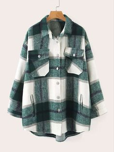 Flannel Jacket, Plaid Flannel, Shirt Jacket, Womens Flannel, Plaid Shirts, Flannel Shirt, Oversized Mantel, Oversized Shirt, Hijab Outfit