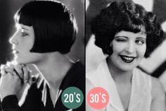 Clara Bow - 20s vs 30s :)