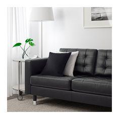LANDSKRONA Loveseat - Grann/Bomstad black, metal - IKEA
