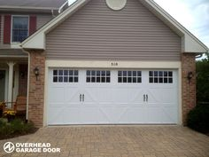 Amarr Garage Doors Classica amarr classica tuscany pattern, seine windows, walnut