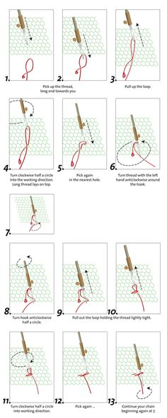 How to start TAMBOUR STITCHING. Lierse kant - Lier lace - Dentelles de Lier - Lierer Spitze