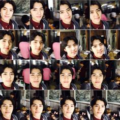 """EXO's Chanyeol realeased a lot of photos of Sehun that had been saved on his cell phone. On July 25, Chanyeol posted on his Instagram, """"I was looking through my cell phone and realized that there were about 100 pictures of Sehun. What a cutie. He went around so many places and took so ma..."""