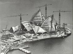 #Sydney #Opera #House construction