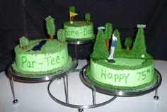 Par-tee golf cake