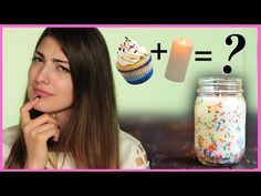 DIY Funfetti Candles With RCLBeauty101 - DIY or DI-Don't - YouTube