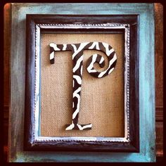 Initial frame with burlap