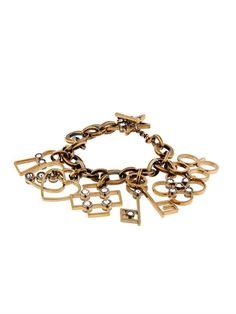 Lanvin 125 Charms pendant bracelet on shopstyle.com