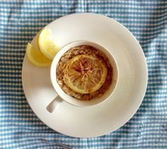 Breakfast, Lemon, Morning Coffee, Morning Breakfast
