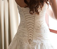Wedding Dresses are so pretty, we should get married every year.