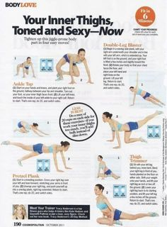 Health and Fitness: 12 Trainer Tracy Anderson Workout sheets back workout Commercial workout 20 Best Body Weight Workouts nataliejillfitnes. Body Fitness, Fitness Diet, Health Fitness, Workout Fitness, Butt Workout, Fitness Legs, Workout Diet, Fitness Motivation, Workout Bauch