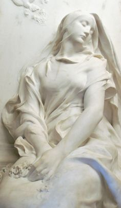 Le Souvenir by Marius Jean Antonin Mercié 1885 - Musée d'Orsay, Paris Image Paris, Art Pierre, Cemetery Art, Art Sculpture, Art Plastique, Stone Art, Art Museum, Sculpting, Images