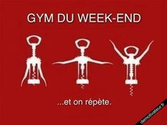Gym du week end