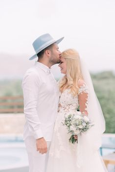 When Instagram Influencer Gets Married in Greece #Instawedding Beautiful Pools, Beautiful Islands, Got Married, Getting Married, Religious Ceremony, Instagram Influencer, Boho Bride, First Dance, Our Wedding Day