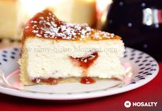 Healthy Desserts, Vanilla Cake, Tart, Panna Cotta, Cake Recipes, Cheesecake, Dinner Recipes, Food And Drink, Sweets